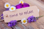 Time to relax mit duftendem Lavendel