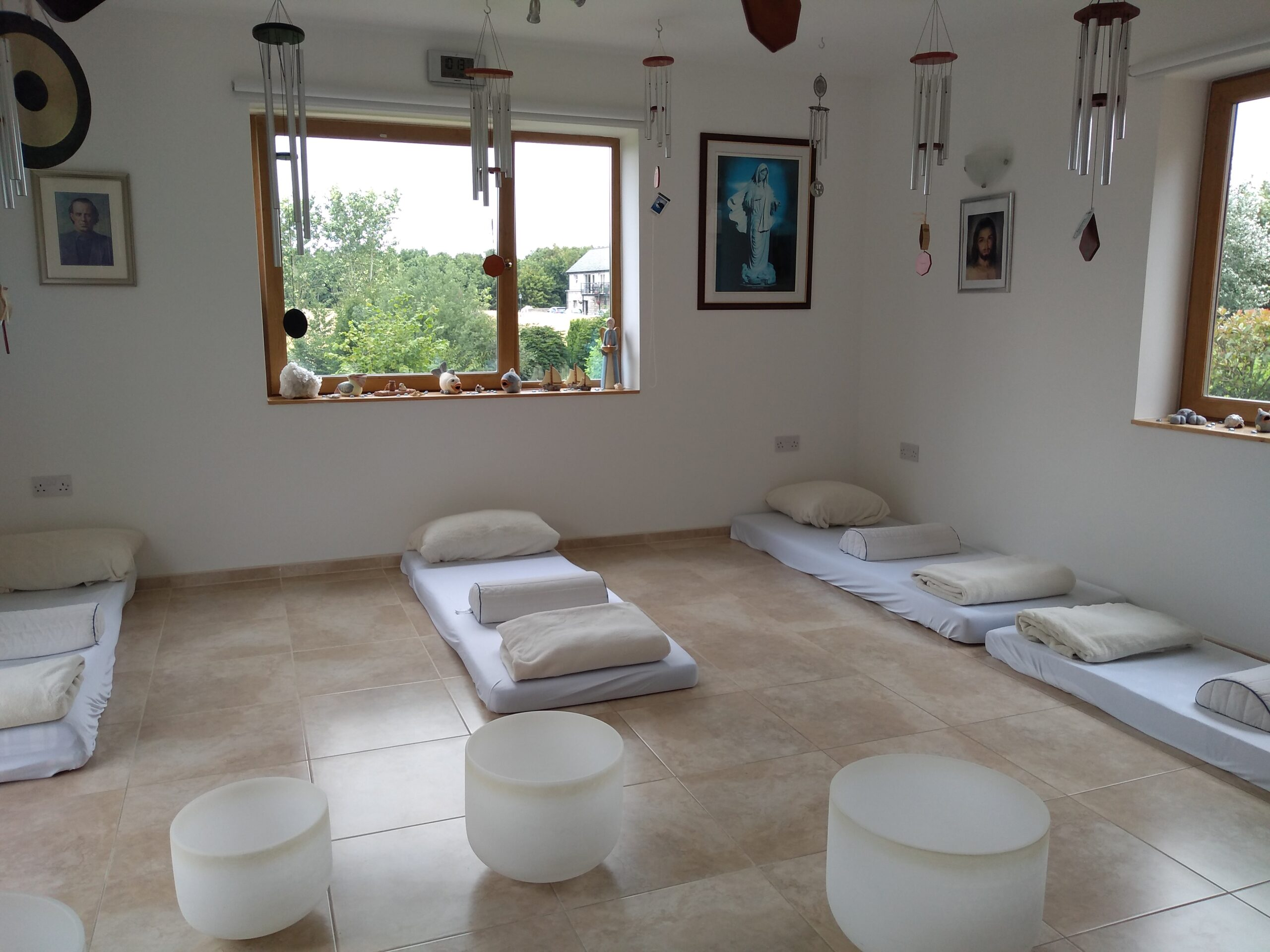 Meditative Sound Healing Room
